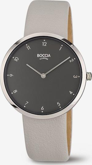 Boccia Titanium Uhr in hellgrau / silber, Produktansicht