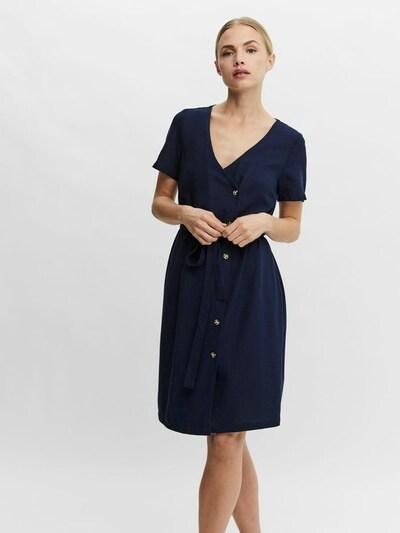 VERO MODA Jurk in de kleur Blauw, Modelweergave
