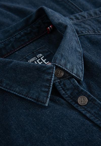 Shirts for Life Bluse Shirt for Life 'Jane' Lieblingsplatz in blau, Produktansicht