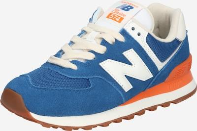 Sneaker low new balance pe albastru / portocaliu / alb, Vizualizare produs