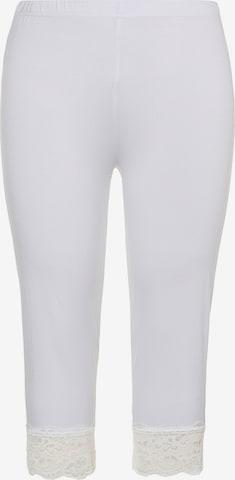 Pantalon Ulla Popken en blanc