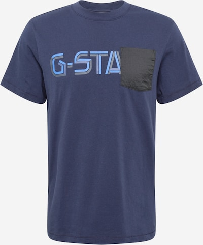 tengerészkék / füstkék / szürke / fekete G-Star RAW Póló, Termék nézet