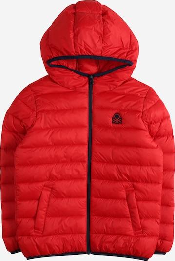UNITED COLORS OF BENETTON Prijelazna jakna u crvena / crna, Pregled proizvoda