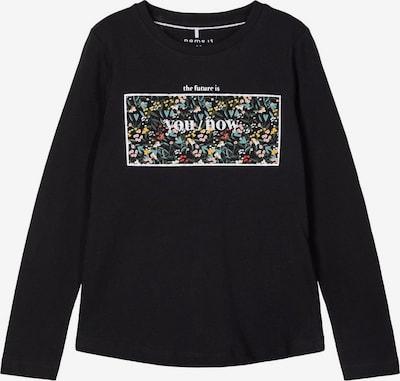 NAME IT Shirt in schwarz, Produktansicht