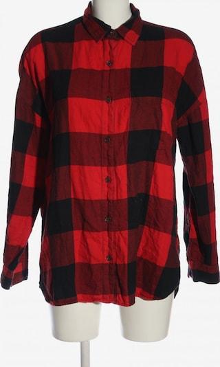 Old Navy Langarmhemd in L in rot / schwarz, Produktansicht