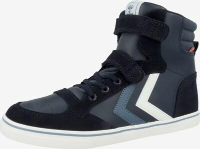 Hummel Sneaker in dunkelblau / schwarz / weiß, Produktansicht