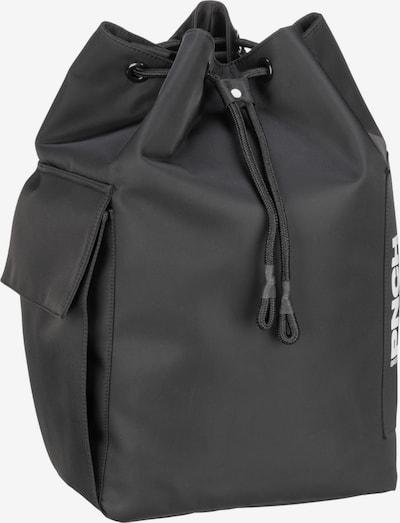 BREE Rucksack in schwarz / weiß, Produktansicht