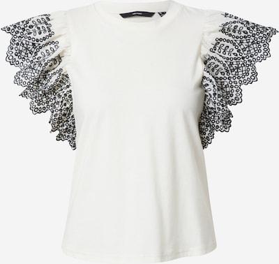 VERO MODA Top 'RACHEL' in de kleur Zwart / Wit, Productweergave
