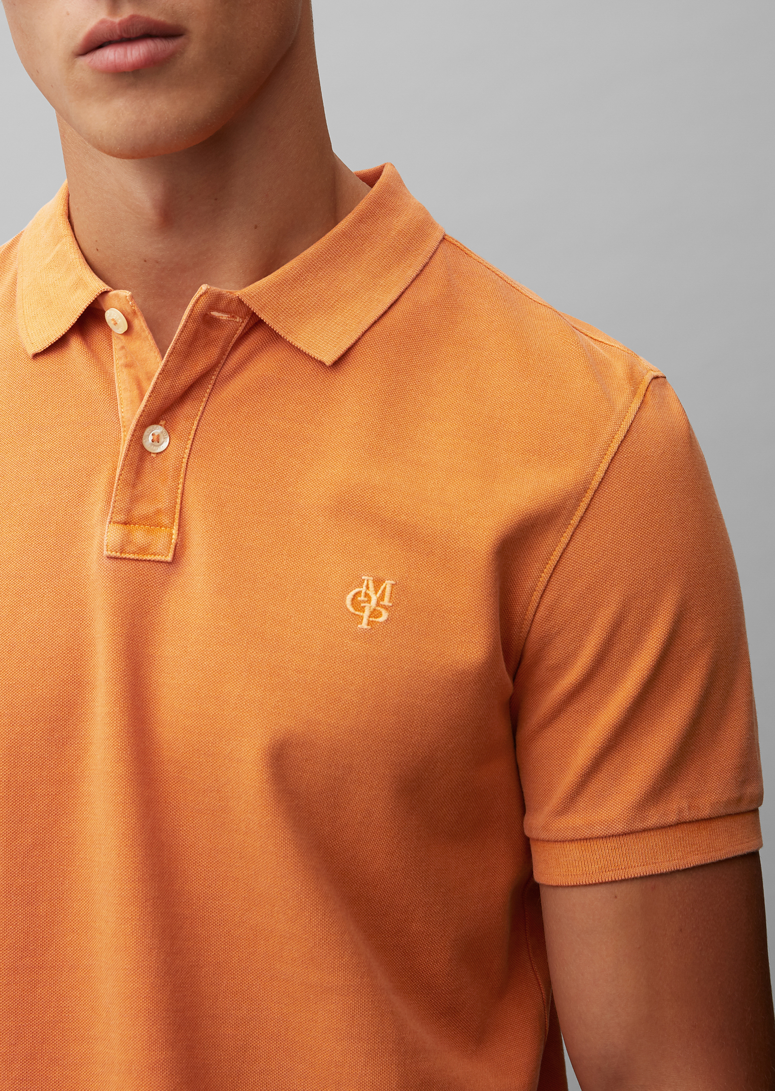 Marc O'Polo Shirt in Sinaasappel IZkOxLms