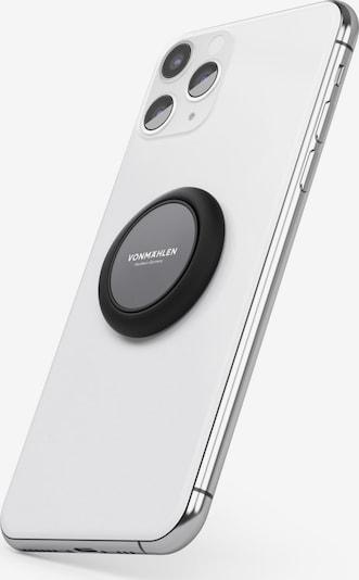 VONMÄHLEN Smartphone-Fingerring 'Signature' in schwarz, Produktansicht