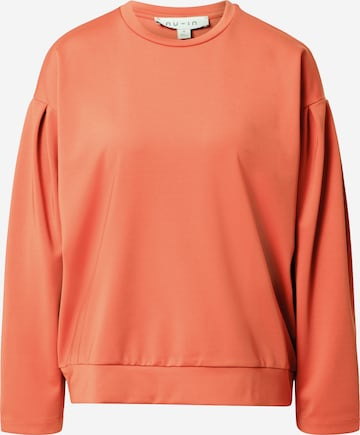 NU-IN Sweatshirt in Orange
