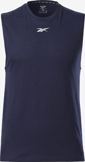 REEBOK Shirt in dunkelblau, Produktansicht