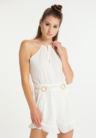 MYMO Jumpsuit in White