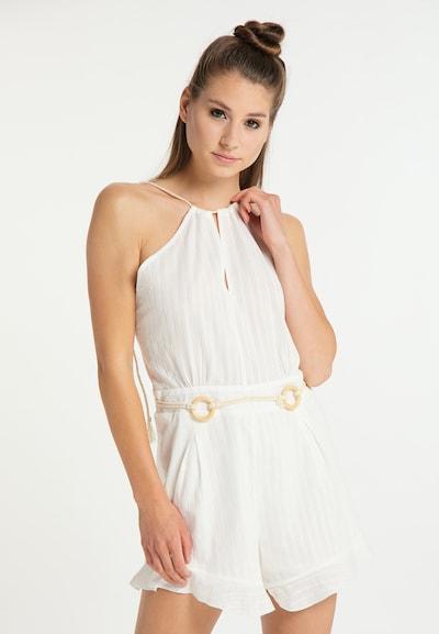 MYMO Overal - biela, Model/-ka