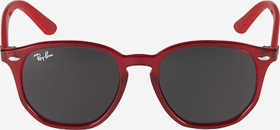 Ray-Ban Lunettes de soleil '0RJ9070S' en gris foncé / rouge rouille, Vue avec produit