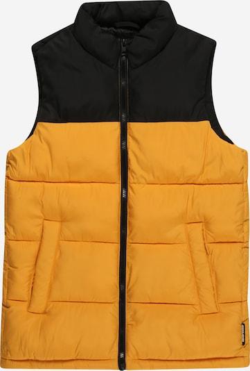 Jack & Jones Junior Bodywarmer 'PAUL' in de kleur Sinaasappel / Zwart, Productweergave