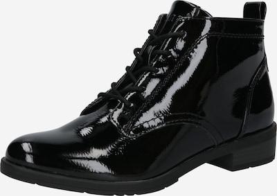 JANA Bottines à lacets en noir, Vue avec produit
