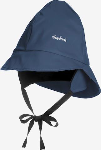 PLAYSHOES Regenmütze in Blau