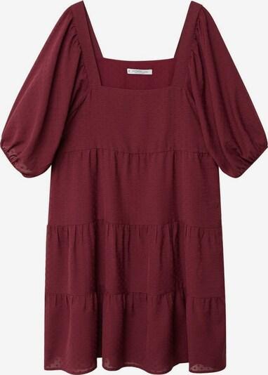 VIOLETA by Mango Kleid in rubinrot, Produktansicht