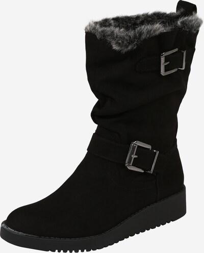 Dorothy Perkins Škornji 'Tessi Wedge Walker' | črna / bela barva, Prikaz izdelka