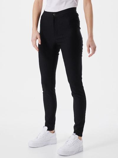 """""""Chino"""" stiliaus kelnės 'Soline' iš Noisy may , spalva - juoda, Modelio vaizdas"""
