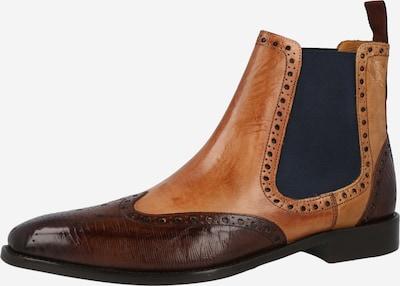 MELVIN & HAMILTON Chelsea Boots 'Martin 5' i royalblå / brun / cognac, Produktvisning