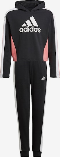 Treniruočių kostiumas iš ADIDAS PERFORMANCE , spalva - šviesiai rožinė / juoda / balta, Prekių apžvalga