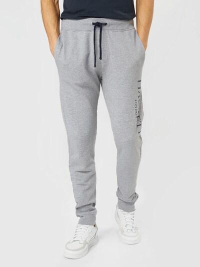 Hackett London Byxa i grå / svart, På modell