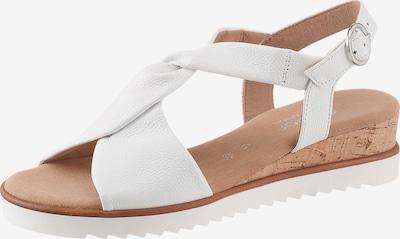 GABOR Sandale in weiß, Produktansicht