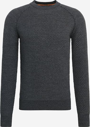 BOSS Trui 'Alkumi' in de kleur Donkergrijs, Productweergave