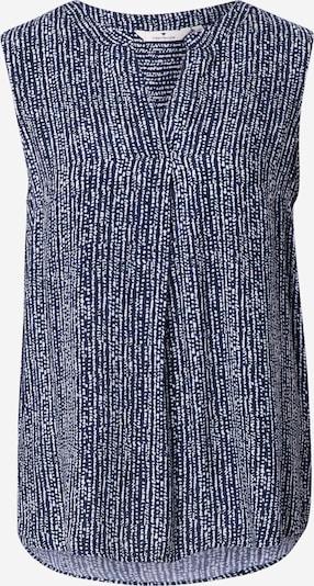TOM TAILOR Blouse in de kleur Navy / Wit, Productweergave