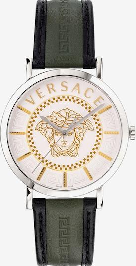 VERSACE Versace Schweizer Uhr in grün / schwarz / silber, Produktansicht