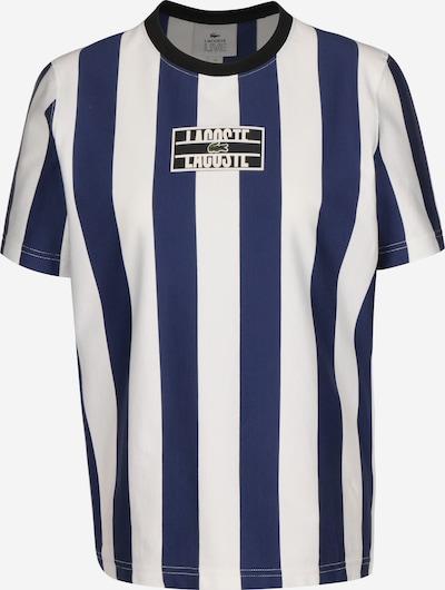 Lacoste LIVE T-Shirt ' Sportswear ' in blau / weiß, Produktansicht
