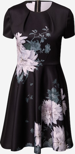 Kokteilinė suknelė 'Luicy' iš Ted Baker , spalva - pilka / rožių spalva / juoda, Prekių apžvalga