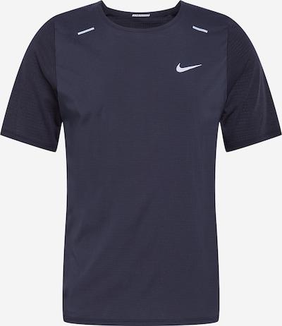 NIKE Functioneel shirt 'Breath Rise 365' in de kleur Zwart / Wit, Productweergave