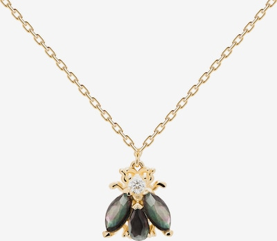 P D PAOLA Necklace in Gold yellow / Dark grey, Item view