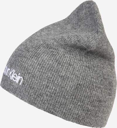 Calvin Klein Mütze in grau, Produktansicht