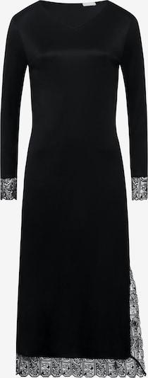 Hanro Langarm Nachthemd ' Wanda, 130cm ' in schwarz, Produktansicht