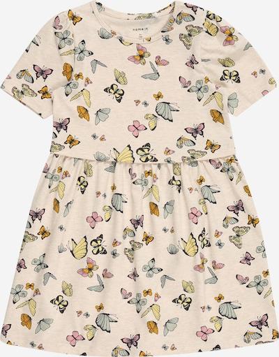 NAME IT Robe 'Josephine' en mélange de couleurs / blanc naturel, Vue avec produit