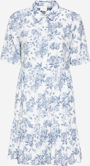 VILA Robe-chemise en bleu clair / blanc, Vue avec produit