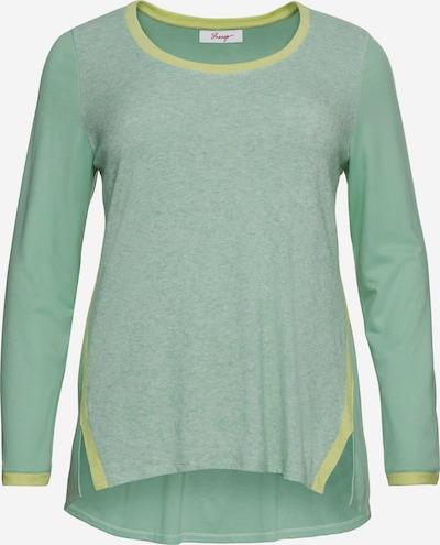 Tricou SHEEGO pe galben amestecat / verde deschis / mix verde, Vizualizare produs
