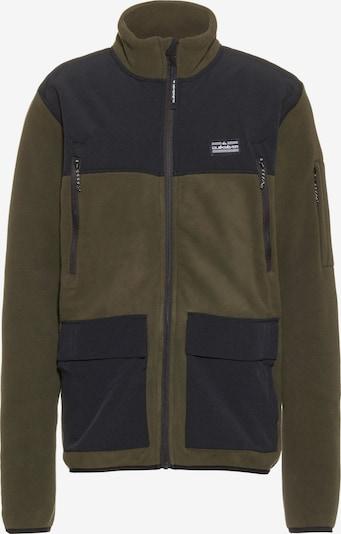 Jachetă  fleece QUIKSILVER pe grafit / kaki, Vizualizare produs
