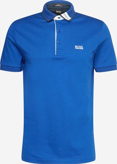 BOSS ATHLEISURE T-Shirt 'Paule' en bleu roi / noir / blanc, Vue avec produit