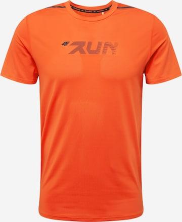 4F Sportshirt in Orange