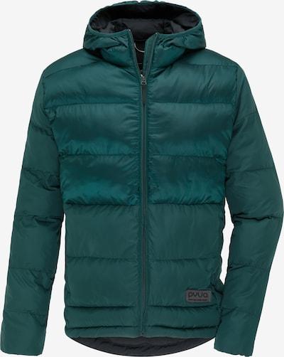 PYUA Outdoorjas 'Plus' in de kleur Groen, Productweergave