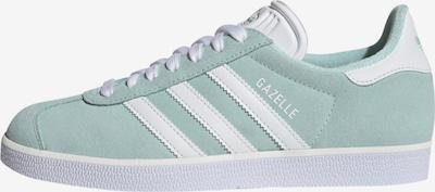 ADIDAS ORIGINALS Sneaker 'Gazelle' in mint / weiß, Produktansicht