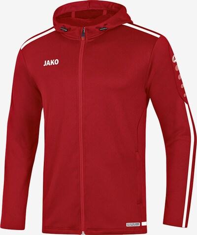 JAKO Jacke in rot / weiß, Produktansicht