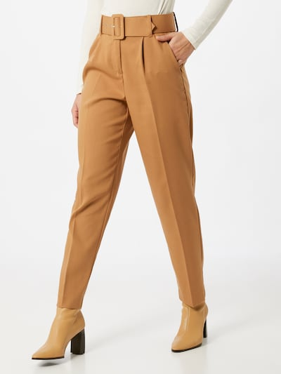 VERO MODA Pleat-front trousers 'JULIE' in Brown, View model