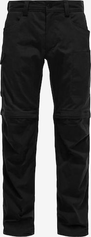 Pantalon outdoor 'Zip Off' Haglöfs en noir