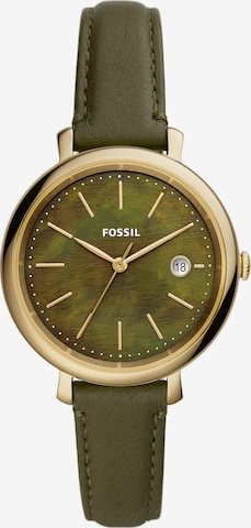 FOSSIL Analog Watch 'Solar' in Green